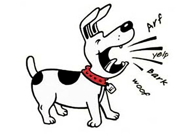 free clipart of dog barking - photo #2