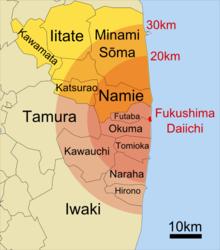 Los residentes de Fukushima