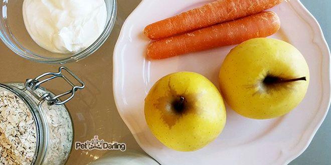 Galletas: Manzana y zanahoria