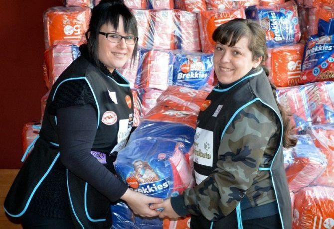 Banco de alimento para personas sin recursos