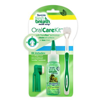 Gel TropiClean Fresh Breath Para Limpieza Dental